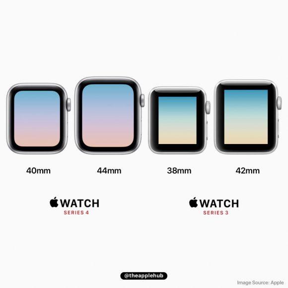 apple watch series 3 series 4