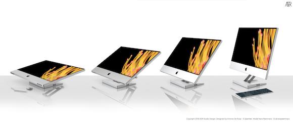 Mac Touch コンセプト Antonio De Rosa