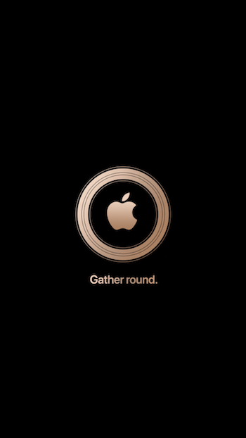 Apple スペシャルイベント Gather round 壁紙 iDownload Blog