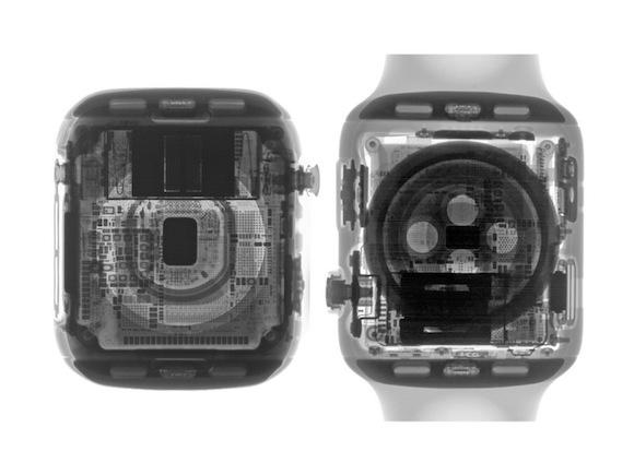 iFIxit Apple Watch Series 4 分解