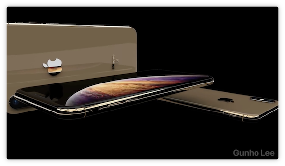 iPhone XS iPhone XS Max 動画 ConceptsiPhone Gunho Lee