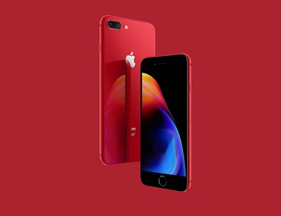 iPhone8 iPhone8 Plus (PRODUCT)RED Apple 公式