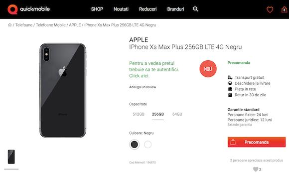 Quickmobile iPhone Xs Max Plus