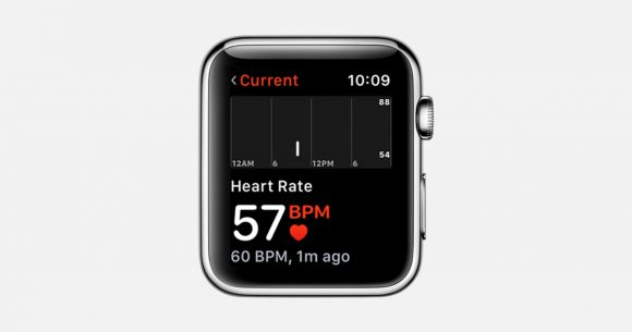 apple watch watchos 心拍数