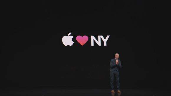 2018年10月 Apple スペシャルイベント