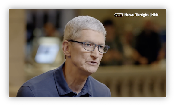 Apple ティム・クックCEO VICE news YouTube