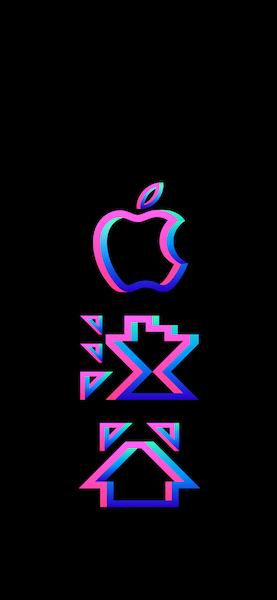 Apple 渋谷 壁紙