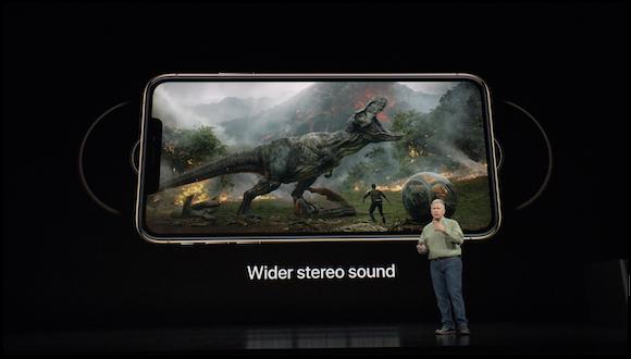 Apple iPhone XS ステレオ