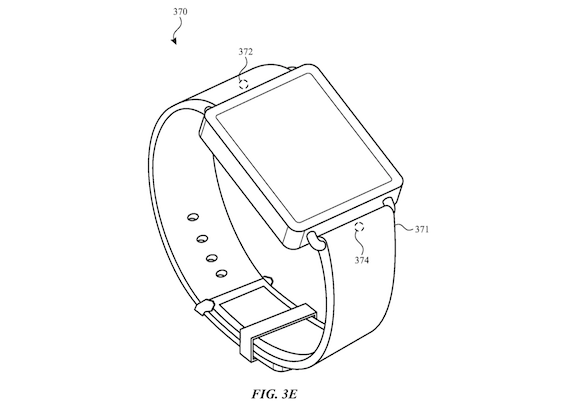 Apple Watch 紫外線 UV 特許 USPTO