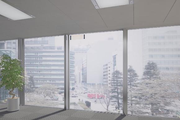 NTTドコモ AGC ガラスアンテナ