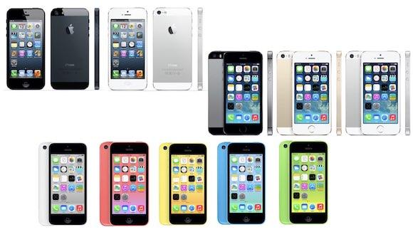 iPhone5 iPhone5s iPhone5c