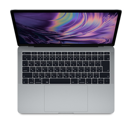 13インチMacBook Pro(Touch Bar非搭載)