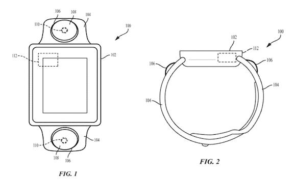 Apple Watch カメラ 特許 USPTO