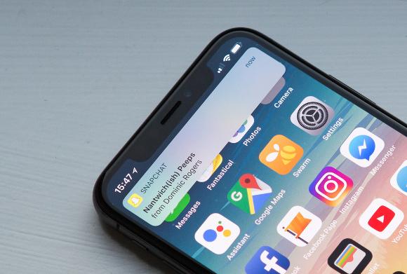 iphone x 通知