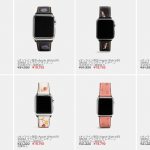 COACHのApple Watch向けバンド
