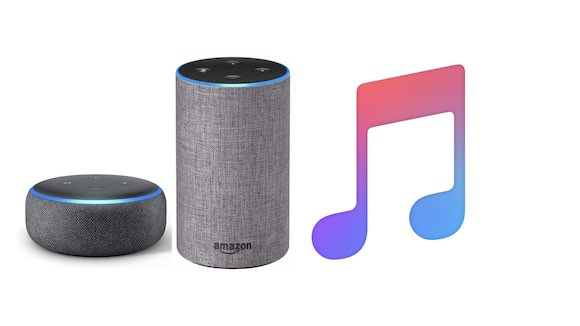 Amazon Alexa Echo Apple Music