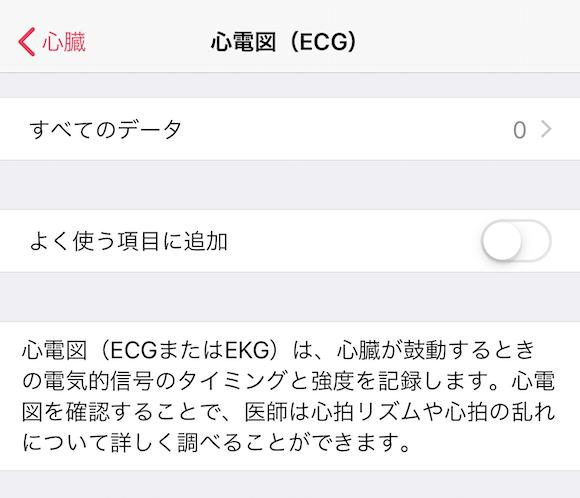 ヘルスケア 心電図(ECG)