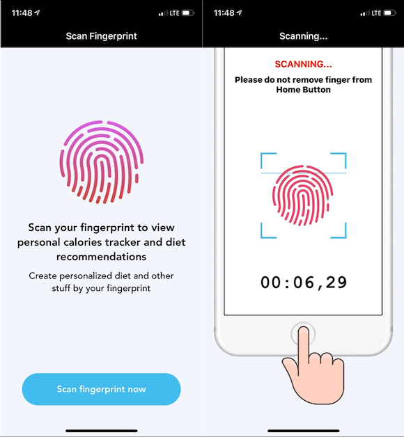 Touch ID 詐欺アプリ ESET