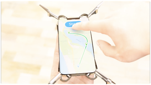 iPhone ドローン コンセプト ConceptsiPhone