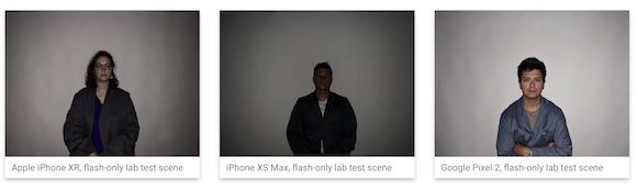 iPhone XR カメラ テストDxOMark