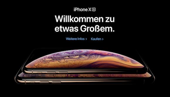 Apple ドイツ iPhone XS