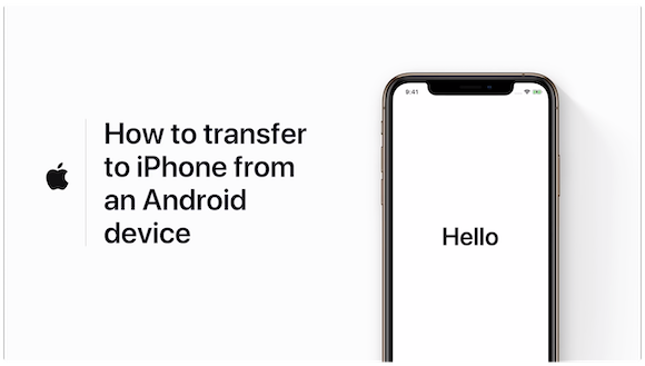 How to move from Android to iPhone — Apple Support