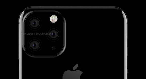iPhoneXI 3カメラ コンセプト DigitIndia