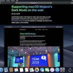 macOS Mojave 10.14.4 ベータ1 Safari ダークモード