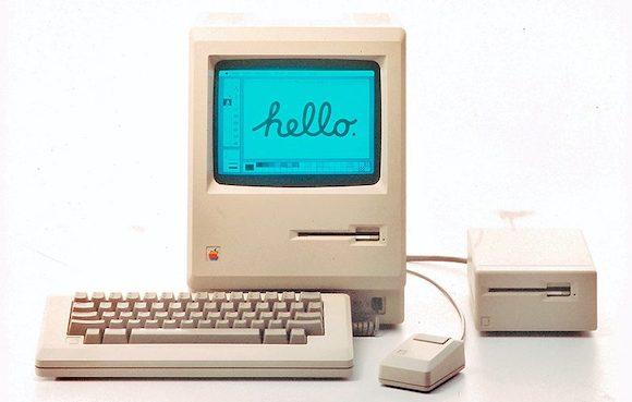 1984年 初代 Macintosh