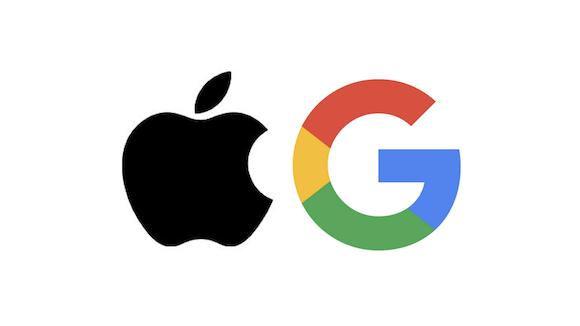 Apple Google ロゴ