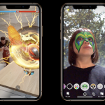Apple iPhone XS AR 拡張現実