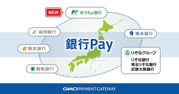 銀行 Pay GMOペイメントゲートウェイ(GMO-PG)