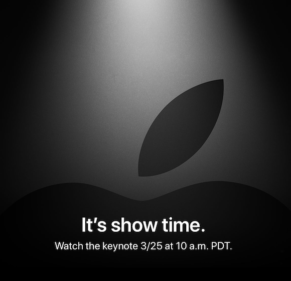 Apple イベント 「It's a show time」