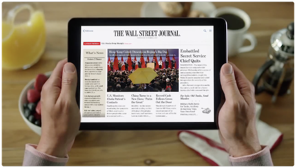 The Wall Street Journal App YouTube