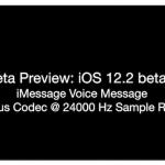 iOS12.2 ベータ5 iMessage 音声 ボイスメッセージ MacRumors