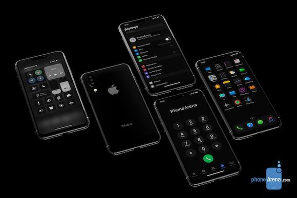 iOS13 iPhone11 iPhone XI コンセプト PhoneArena