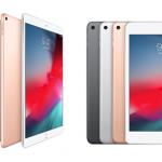 2019 iPad Air 第3世代, iPad mini 第5世代