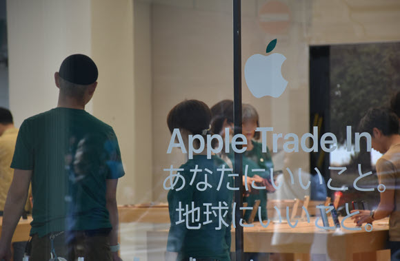 Apple Trade In asm撮影