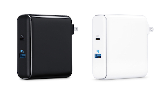Apple/Anker PowerCore Fusion Power Delivery Battery and Charger