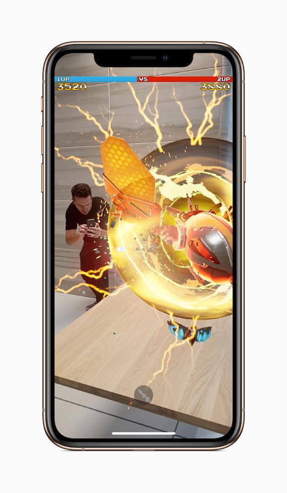 Apple iPhone XS プレスリリース ゲーム