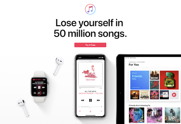 Apple Music インド
