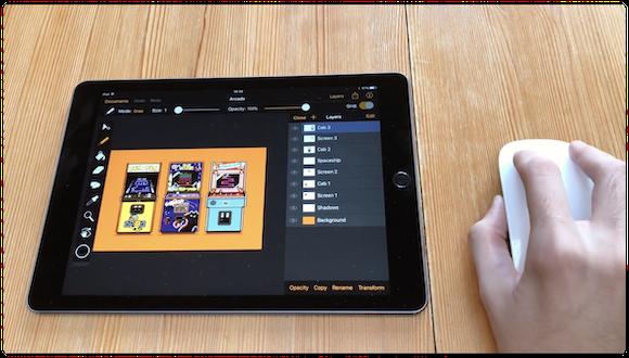 PointerKit iPad マウス操作