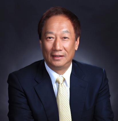 鴻海精密工業 郭台銘(テリー・ゴウ)董事長 Foxconn