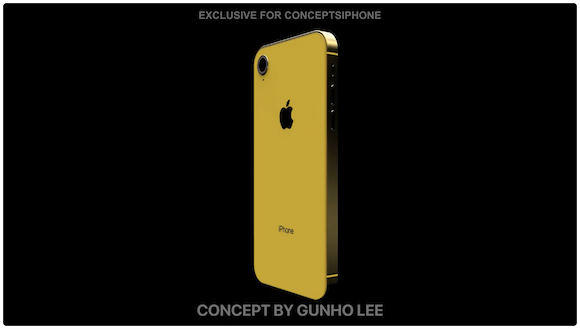 iPhone11/iPhone XI iOS13 コンセプト ConceptsiPhone iPhone 11R Gunho Lee