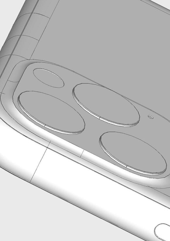 iPhone 11 Max iPhone XI Max Ben Geskin @BenGeskin CAD