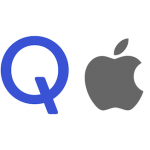 Qualcomm Apple logo