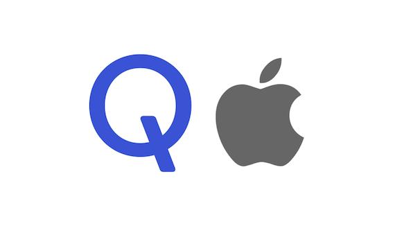 Qualcomm Apple logo