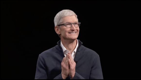 Apple ティム・クックCEO 2018年10月イベント YouTube