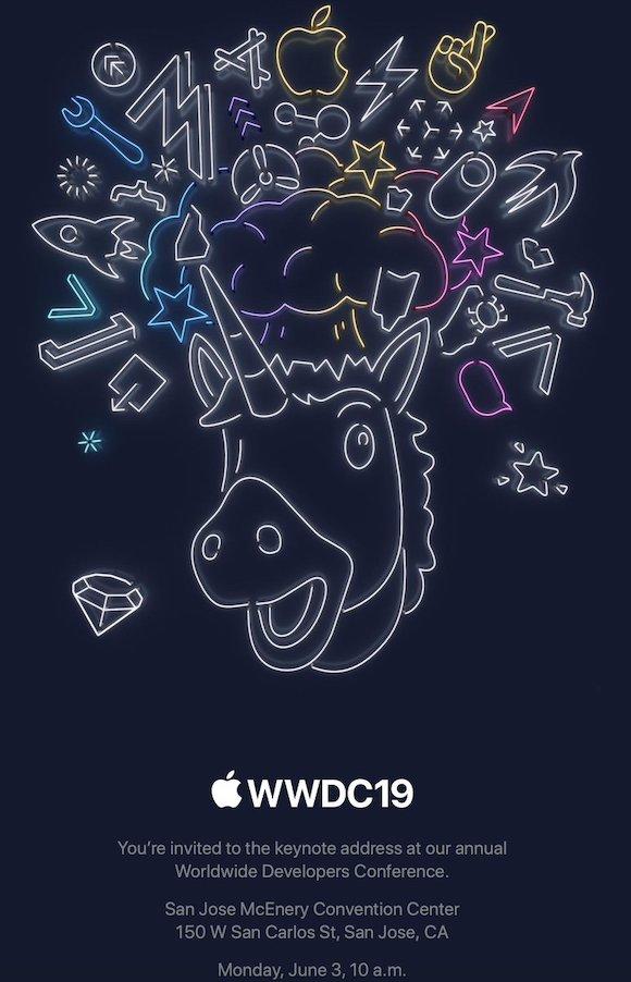 WWDC 19 招待状