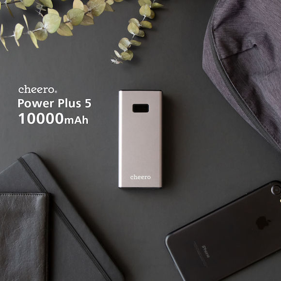 cheero Power Plus 5 10000mAh with Power Delivery 18W